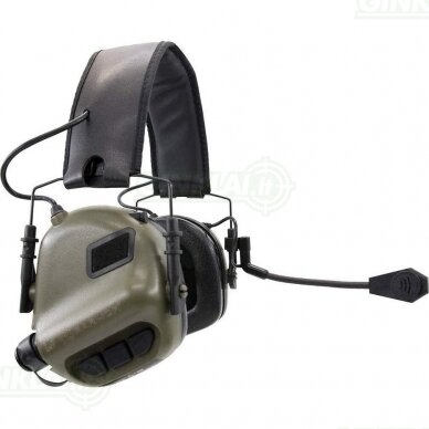 Aktyvios ausinės M32 Tactical MOD3 Green 2