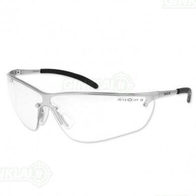 Apsauginiai akiniai Bolle Silium skaidrūs