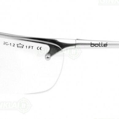 Apsauginiai akiniai Bolle Silium skaidrūs 2