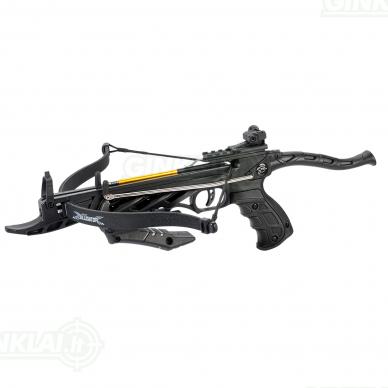 Arbaletas pistoletas Man Kung Alligator Juodas 80lbs