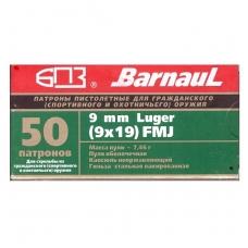 Barnaul 9 mm Luger 9x19 7,46 g, 50 vnt.