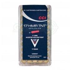CCI 17HMR TNT HP 1,10 g, 50 vnt.