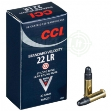 CCI 22LR Standart 2,59 g, 50 vnt.