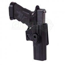 Dėklas pistoletui Glock 17 Helikon Release Button Belt Clip