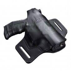 Dėklas pistoletui Walther P22 odinis, ant diržo
