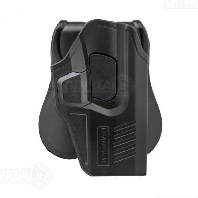 Dėklas pistoletui Glock 17, 17 Deluxe, 19, 18C, 19X, 19 Gen4 Umarex Mod. 1
