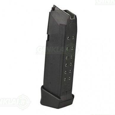Dėtuvė Glock 19 9x19, 17 šovinių