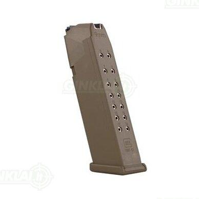 Dėtuvė Glock 19X Coyote 9x19, 17 šovinių