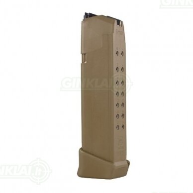Dėtuvė Glock 19X Coyote 9x19, 19 šovinių