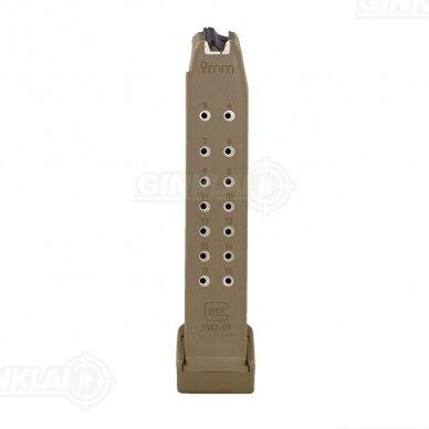 Dėtuvė Glock 19X Coyote 9x19, 19 šovinių 2