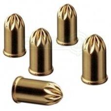 Dujiniai šaudmenys 9 kal. Pipiriniai PV revolveriui 10 vnt.
