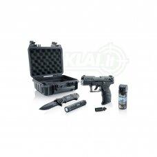 Dujinis pistoletas ir savigynos rinkinys Walther P22Q R2D kal. 9 mm