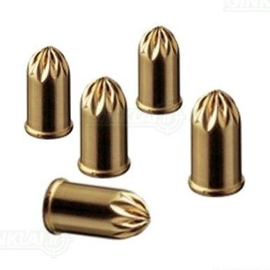 Dujiniai šaudmenys 9 kal. Pipiriniai PV revolveriui 10 vnt. 2