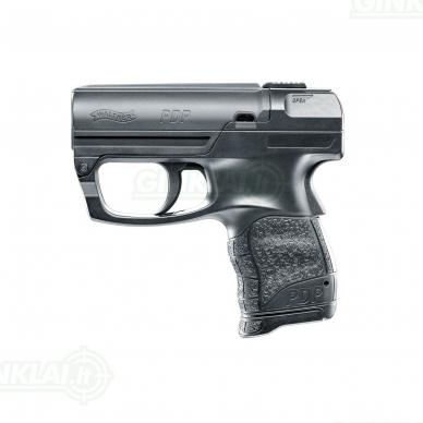 Dujinis pistoletas su įstatomu dujiniu balionėliu Walther PDP