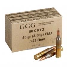 GGG .223 Rem. FMJ 55gr/3,56g
