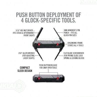 Įrankis Real Avid  4 in 1 Tool for Glock AVGLOCK41 7