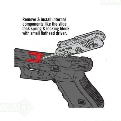 Įrankis Real Avid  4 in 1 Tool for Glock AVGLOCK41 9