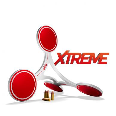 Judantis taikinys 9mm, 40 S&W ir 38 kalibrams FLIP TARGET XTREME 2000