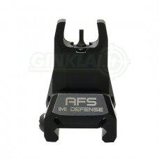 Kryptukas IMI Defense AFS Aluminum Front Polymer Flip Up Sight IMI-Z7020