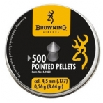 Kulkelės Browning POINTED PELLETS 4,5 mm, 500 vnt.