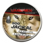 Kulkelės Umarex JACKAL 4,5 mm, 500 vnt.