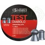 Kulkelių rinkinys JSB Diabolo EXACT Test 4,50-4,52 mm 350 vnt.