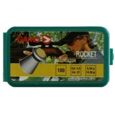Kulkelės Gamo ROCKET 5.5mm, 100 vnt.