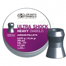 Kulkelės JSB Diabolo Heavy Ultra Shock 4,50 mm 350 vnt.