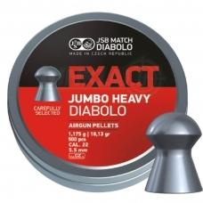 Kulkelės JSB Diabolo JUMBO Exact Heavy 5,52 mm 250 vnt.