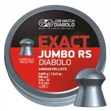 Kulkelės JSB Diabolo JUMBO Exact RS 5,52 mm 250 vnt.