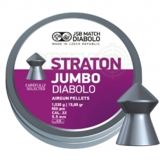 Kulkelės JSB Diabolo JUMBO Straton 5,50 mm 250 vnt.