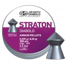 Kulkelės JSB Diabolo Straton 4,50 mm 500 vnt.