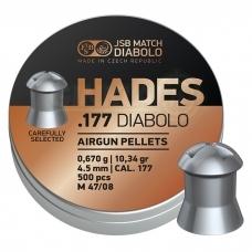 Kulkelės JSB Hades 4,50 mm 500 vnt.