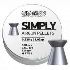 Kulkelės JSB Simply 4,50 mm 500 vnt.