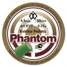 Kulkelės Kvintor Fantom 4,5mm 50 vnt.