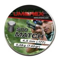 Kulkelės Umarex MATCH 4,5 mm, 500 vnt.