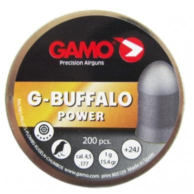 Kulkelės Gamo G-BUFFALO 4,5 mm, 200 vnt.