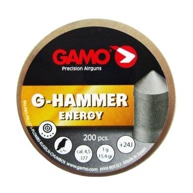 Kulkelės Gamo G-HAMMER 4,5 mm, 200 vnt.