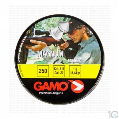 Kulkelės Gamo MAGNUM 5,5 mm, 250 vnt.