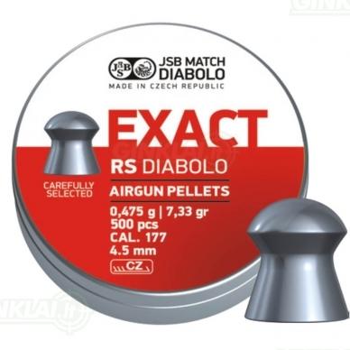 Kulkelės JSB Diabolo EXACT RS 4,52 mm 500 vnt.