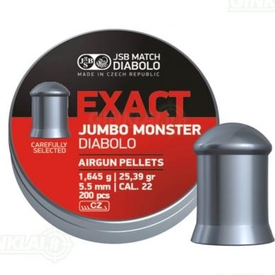 Kulkelės JSB Diabolo JUMBO Exact Monster 5,52 mm 200 vnt.