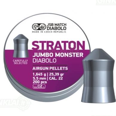Kulkelės JSB Diabolo JUMBO Straton Monster 5,51 mm 200 vnt.