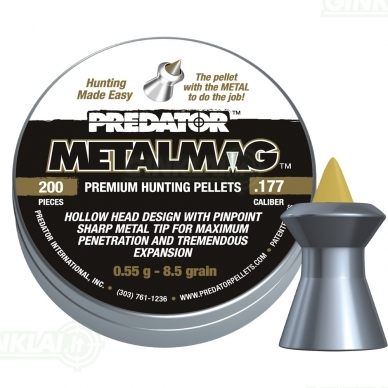 Kulkelės JSB Predator MetalMag 4,50 mm 200 vnt.