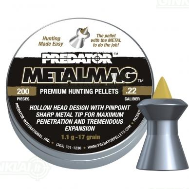 Kulkelės JSB Predator MetalMag 5,50 mm 200 vnt.