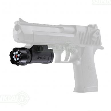 Lazerinis taikiklis Walther FLR 650 Laser class 2 3