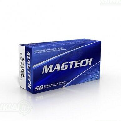 Magtech 9mm Luger 9x19 FMJ 115gr 9A 50vnt.