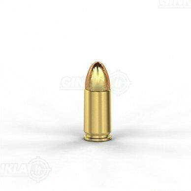 Magtech 9mm Luger 9x19 FMJ 115gr 9A 50vnt. 2