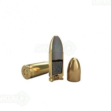 Magtech 9mm Luger 9x19 FMJ 115gr 9A 50vnt. 3
