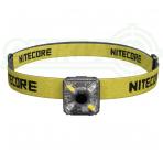 Nitecore NU05 prožektorius ant galvos