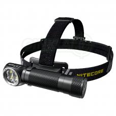Nitecore HC35 prožektorius ant galvos